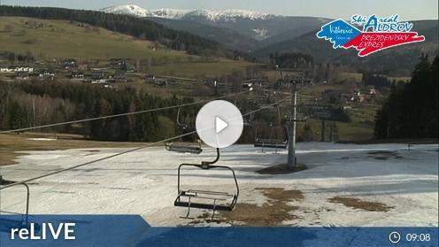 Vítkovice v Krkonosích – Skigebiet webcam Live