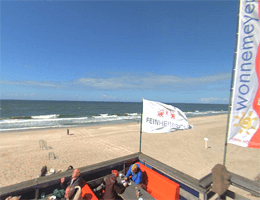 Sylt-Wenningstedt – Strandpanorama Webcam Live