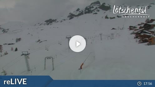 Wiler – Bergstation Luftseilbahn Wiler-Lauchernalp webcam Live