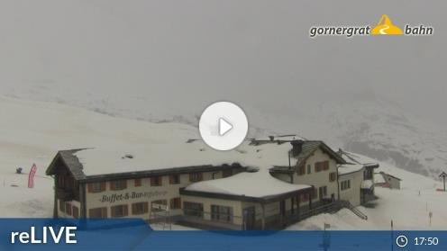 Zermatt: Gornergrat – Riffelberg webcam Live