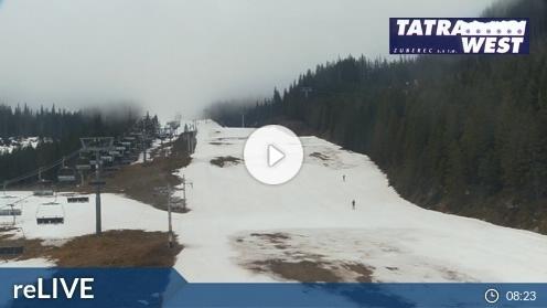 Zuberec – Roháce-Spálená Webcam Live