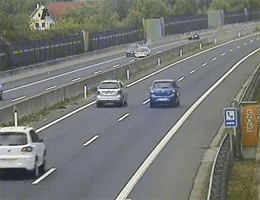 A02 Süd Autobahn Blickrichtung Wien Km 119,47 Webcam Live