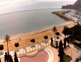 Altea – Playa La Roda und Hafen Webcam Live