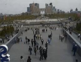 Astana – Khan Shatyr Shopping Aussenkamera