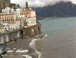 Atrani – Blick von La Scogliera Rooms Webcam Live