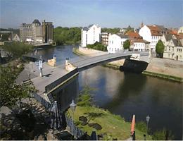 Bernburg (Saale) – Saalebrücke Webcam Live