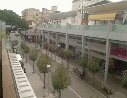 Bibione – Fußgängerzone Webcam Live