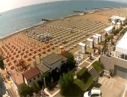 Caorle – Spiaggia di Ponente Webcam Live
