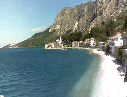 Drašnice – Strandpanorama Webcam Live