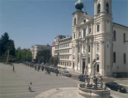 Görz – Kirche St. Ignazio Webcam Live