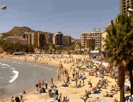 La Cala de Finestrat Strand – Costa Blanca Webcam Live