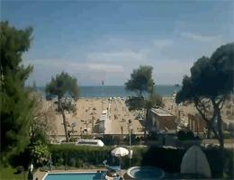 Lignano Sabbiadoro – Strandblick Webcam Live