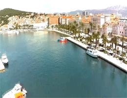 Split – Blick auf Split Riva Webcam Live