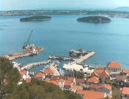 Tkon (Pašman) – Kalvaria – Pašmanski Kanal Webcam Live