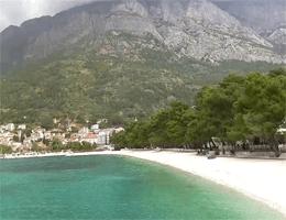 Baška Voda: Borik – Nikolina Strand Webcam Live