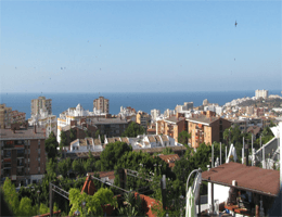 Benalmádena – Panoramablick Webcam Live