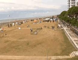 Bibione – Strandblick Webcam Live