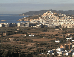 Ibiza-Stadt – Panoramablick Webcam Live