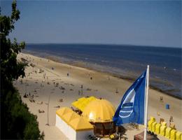 Jūrmala: Majori – Strandblick Webcam Live