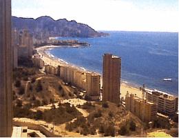 La Cala de Finestrat – Blick über Benidorm Webcam Live