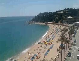 Lloret de Mar – Hauptstrand Webcam Live
