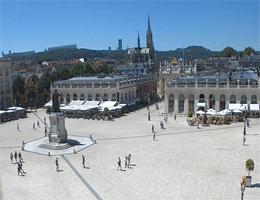 Nancy – Place Stanislas und Rathaus Webcam Live