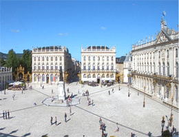 Nancy – Place Stanislas Webcam Live