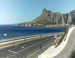 Omiš – Stadtpanorama Webcam Live