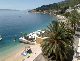 Podgora Strand Webcam Live