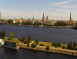 Riga – Panorama Webcam Live