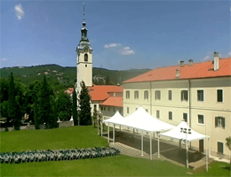 Rijeka – Kirche der seligen Jungfrau Maria auf Trsat Webcam Live