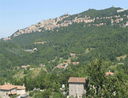 San Marino – Stadtpanorama Webcam Live