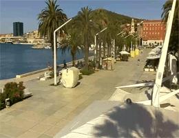 Split – Riva Hrvatskog Preporoda Webcam Live