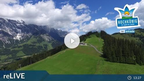 Dienten am Hochkönig – Bürglalmlift Bergstation Webcam Live