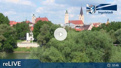 Ingolstadt – Klenzepark Webcam Live