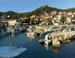 Tkon (Pašman) – Stadt und Marina Webcam Live