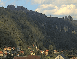 Bad Schandau – Schrammsteine Webcam Live