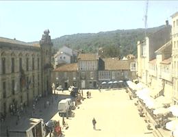 Celanova: Praza Maior – Rathaus Webcam Live