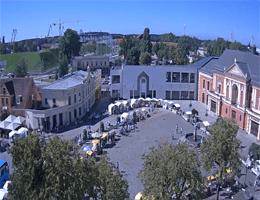 Klaipėda – Theaterplatz Webcam Live