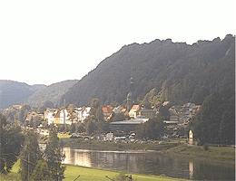 Krippen – Blick auf Bad Schandau Webcam Live