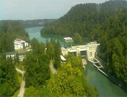 Medvode – Sava und Zbiljsko jezero Webcam Live