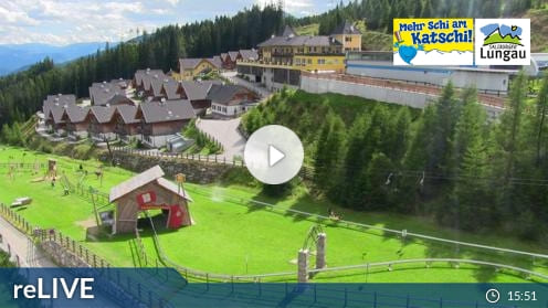 Rennweg am Katschberg – Zentrum Katschberghöhe Webcam Live