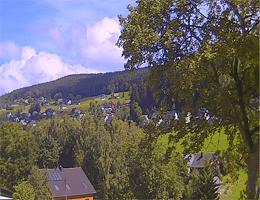 Rittersgrün – Blick zum Hammerberg Webcam Live