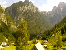 Trenta – Šplevt, Pihavec und Prisojnik Webcam Live