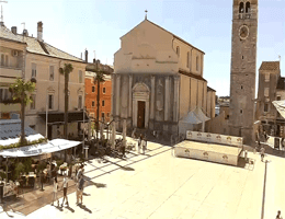 Umag – Stadtzentrum Webcam Live