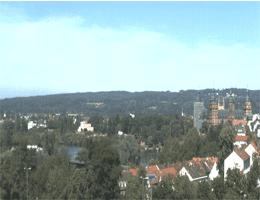 Aschaffenburg – Blick über Aschaffenburg Webcam Live