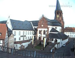 Aschaffenburg: Stiftskirche – Stiftsmuseum Webcam Live