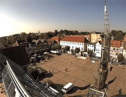 Aurich – Marktplatz Webcam Live