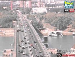 Belgrad: Brankov most – Terazijski tunel Webcam Live