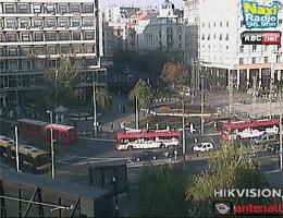 Belgrad – Trg Republike Webcam Live